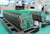机房动环监控产品待组装电路板