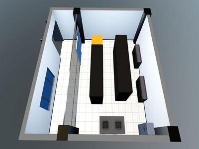 3D机房监控界面设计