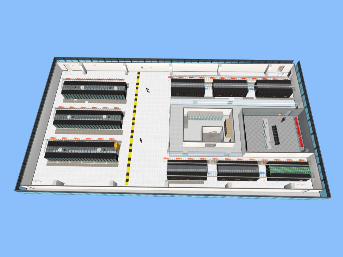 机房3D监控要实现哪些功能?
