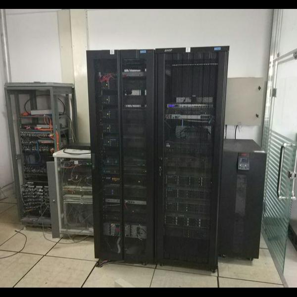 石嘴山市大武口区人民法院机房动环监控系统安装建设实录