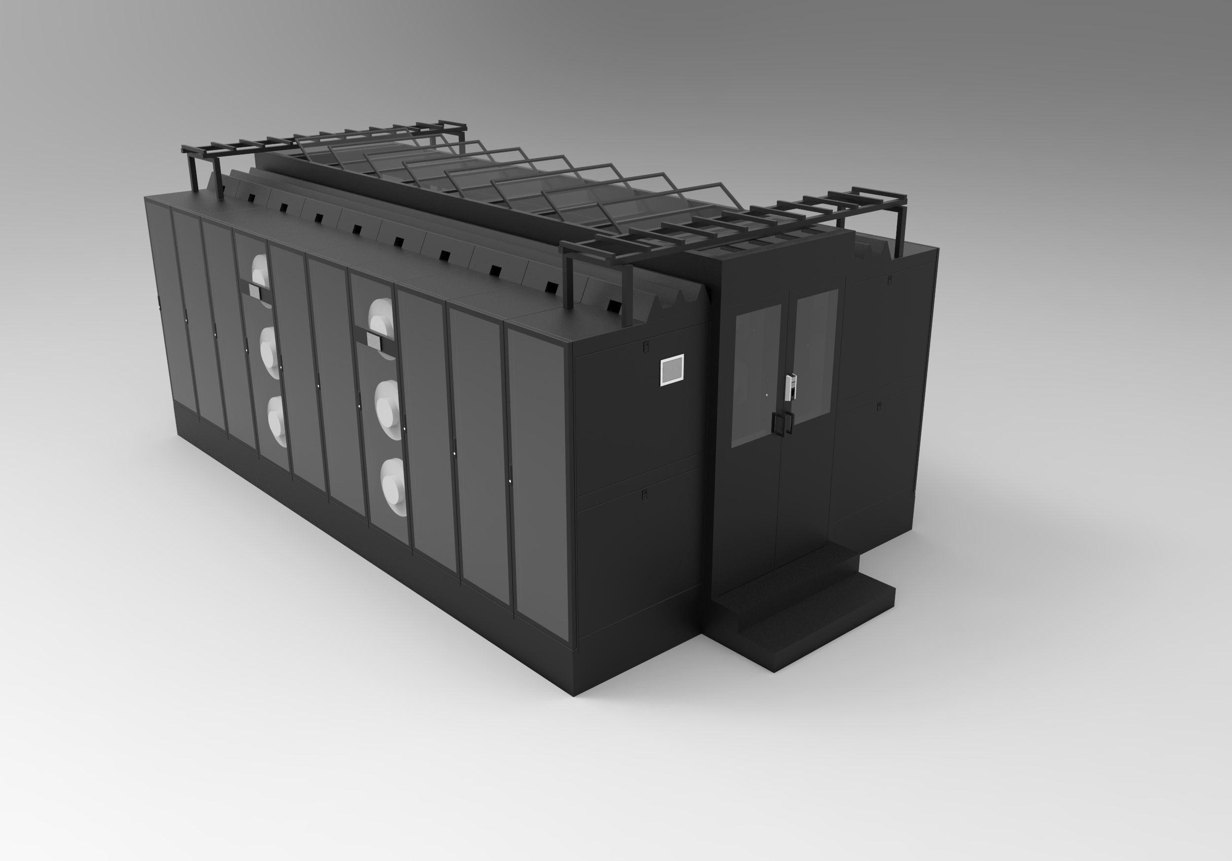 模块化机房及其智能监控系统