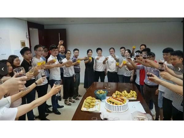 迈世公司举办中国联通数据中心机房监控订单庆功会