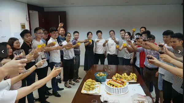 中国联通数据中心机房监控订单庆功会