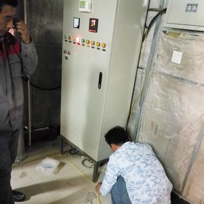 迈世不畏严寒,为大连东软科技园提供漏水监测服务