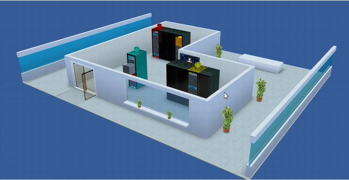 可视化3D机房监控·一