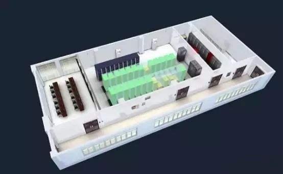 可视化3D机房监控系统·二