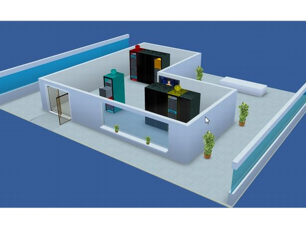 浅谈可视化3D机房监控系统