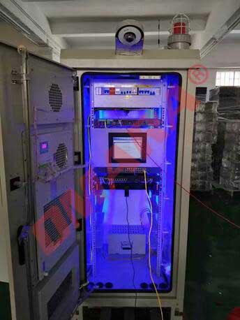 ETC门架系统一体化智能机柜·现场调试
