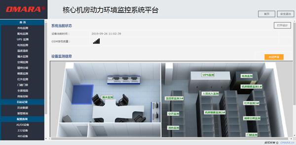核心机房动力环境监控系统平台