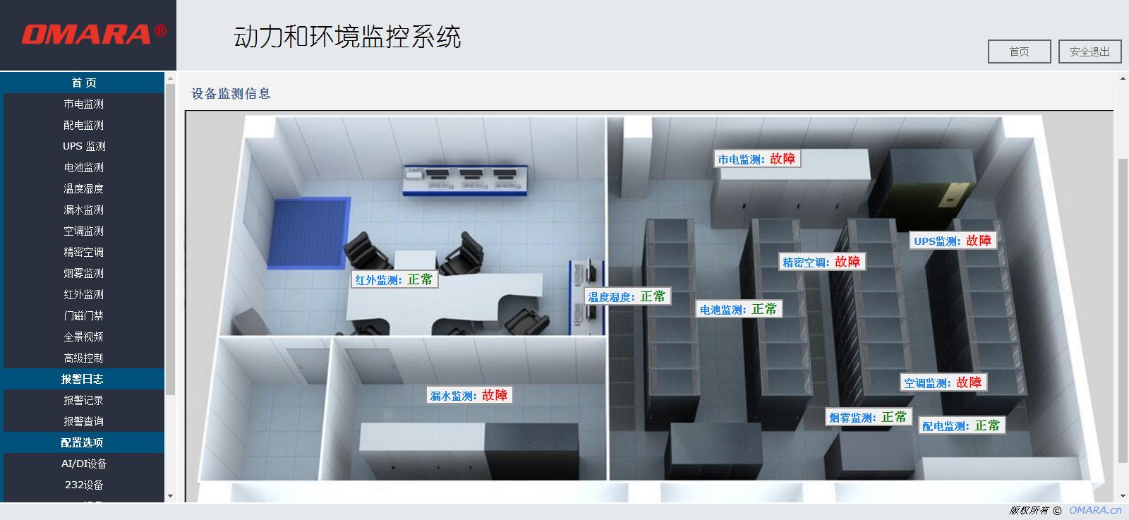 嵌入式机房监控软件