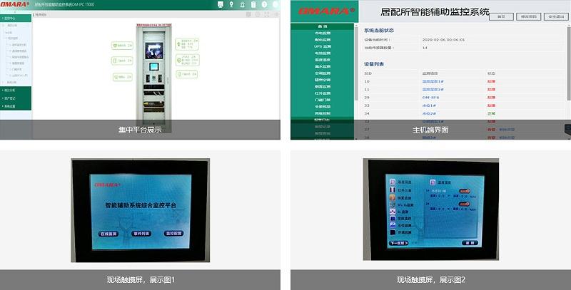 居民配电所智能辅助监控系统平台展示