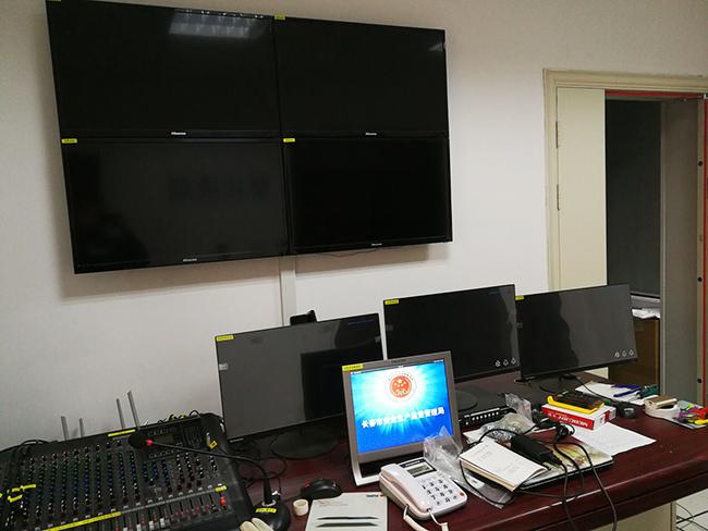 资源局监控室