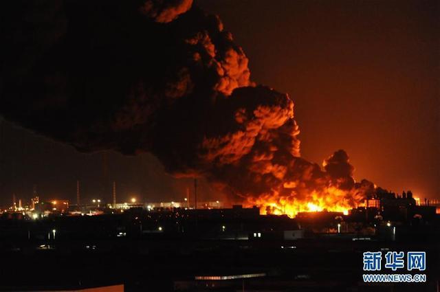 润滑油储备仓库-火灾时