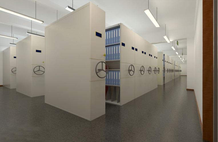 现代档案馆八防环境监控系统实时运行的安全卫士