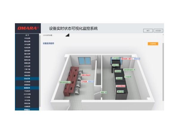 设备实时状态可视化监控系统,以3D图形实时显示