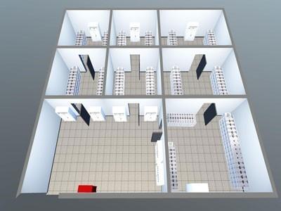 三维IDC机房可视化运维管理系统