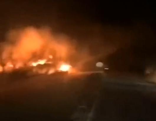 机械公司·爆炸火灾