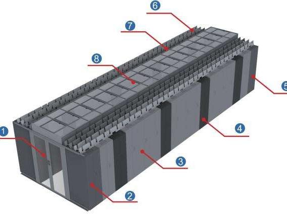 模块化机房和传统机房在建设上的区别